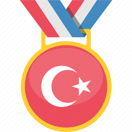 country, national, turkey, winner icon
