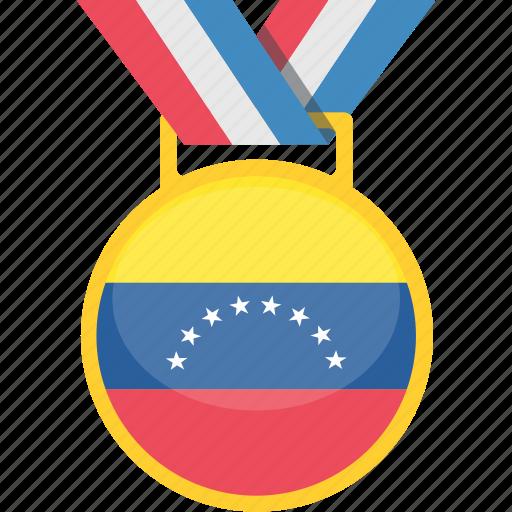 flag, flags, venezuela, world icon