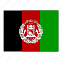 afghanistan, flag, flags icon