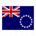 cook, flag, flags, islands