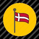 country, denish flag, denmark, denmark flag, europe, flag icon