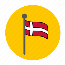 country, denish flag, denmark, denmark flag, europe, flag icon