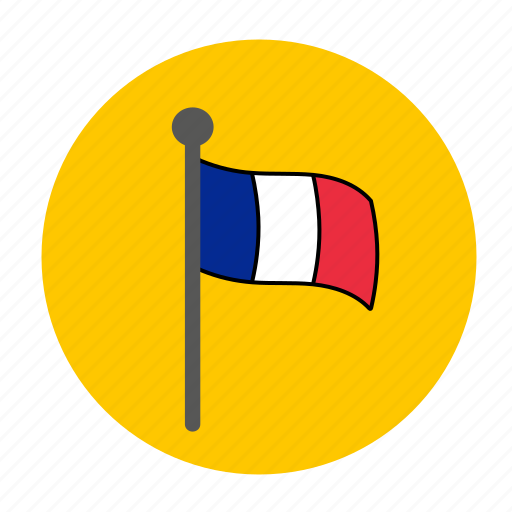 country, europe, flag, france, french icon