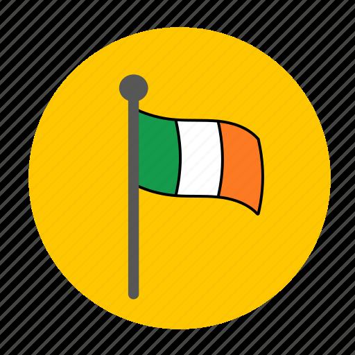 country, europe, flag, ireland, irish, uk icon