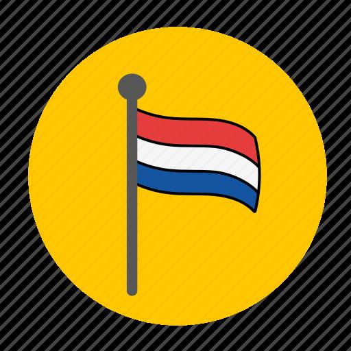 dutch, europe, flag, holland, netherlands icon