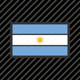 argentina, celebration, day, flag, freedom, independence, national icon