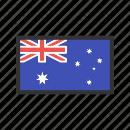 australia, celebration, day, flag, freedom, independence, national icon
