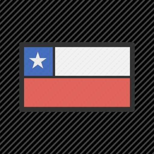 celebration, chile, day, flag, freedom, independence, national icon
