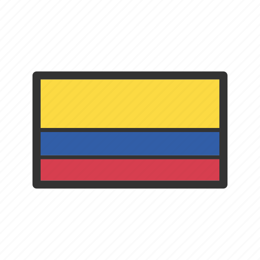 celebration, colombia, day, flag, freedom, independence, national icon
