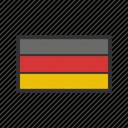 celebration, day, flag, freedom, germany, independence, national icon