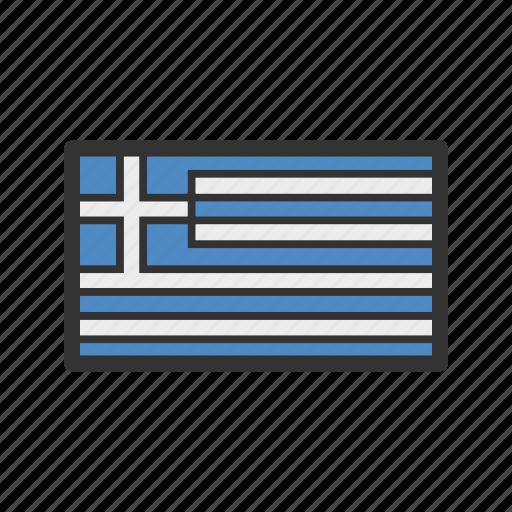 celebration, day, flag, freedom, greece, independence, national icon