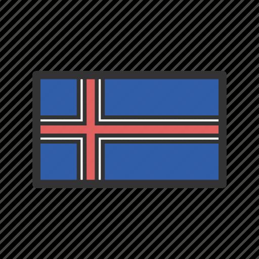 celebration, day, flag, freedom, iceland, independence, national icon