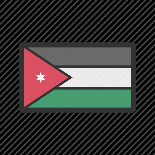 celebration, day, flag, freedom, independence, jordan, national icon