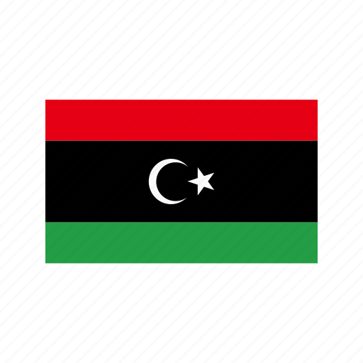celebration, day, flag, freedom, independence, libya, national icon