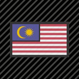 celebration, day, flag, freedom, independence, malaysia, national icon