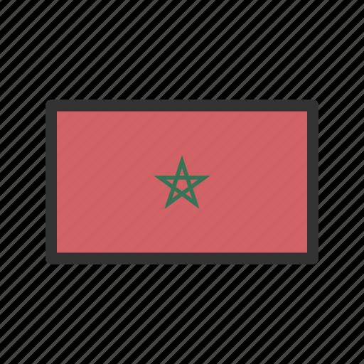 celebration, day, flag, freedom, independence, morocco, national icon