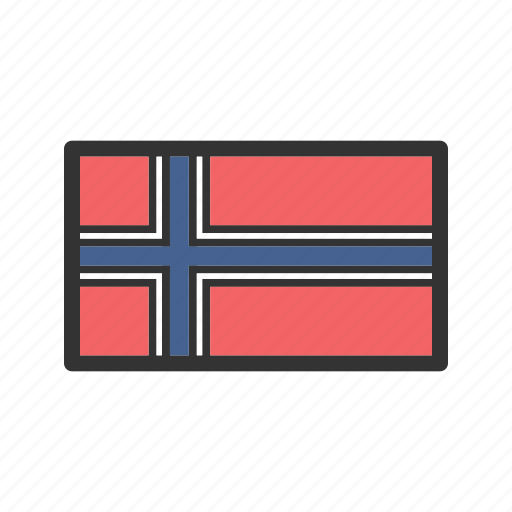 celebration, day, flag, freedom, independence, national, norway icon