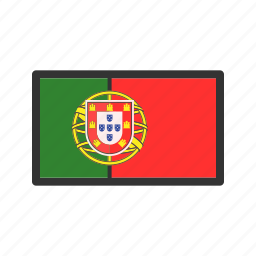 celebration, day, flag, freedom, independence, national, portugal icon
