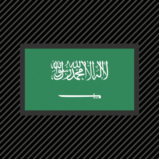celebration, day, flag, freedom, independence, national, saudia arabia icon