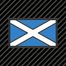 celebration, day, flag, freedom, independence, national, scotland icon