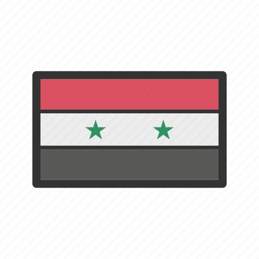 celebration, day, flag, freedom, independence, national, syria icon