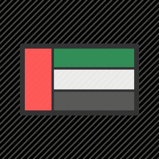 celebration, day, flag, freedom, independence, national, united arab emirates icon
