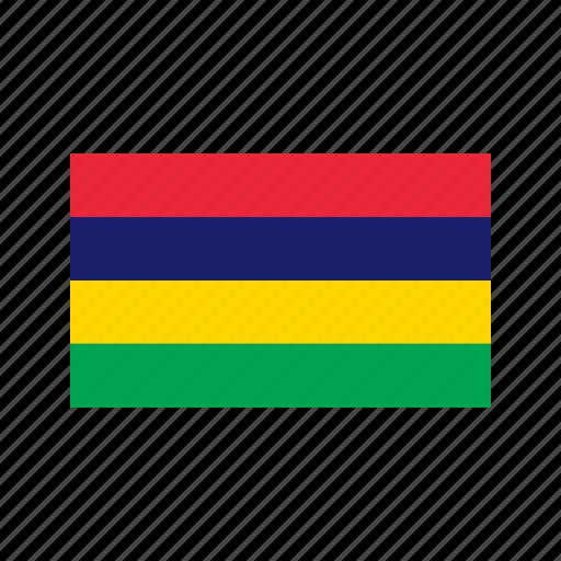 celebration, day, flag, freedom, independence, mauritius, national icon
