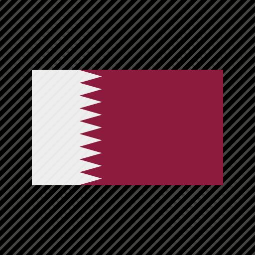 celebration, day, flag, freedom, independence, national, qatar icon