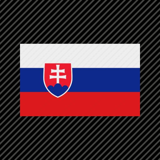 celebration, day, flag, freedom, independence, national, slovakia icon