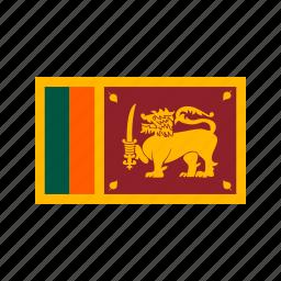 celebration, day, flag, freedom, independence, national, sri lanka icon