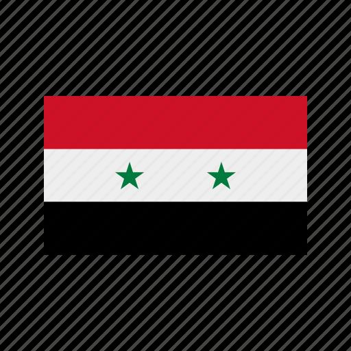 celebration, day, flag, freedom, independence, national, syria icon