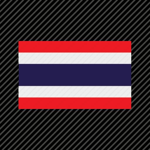 celebration, day, flag, freedom, independence, national, thailand icon
