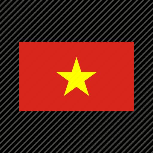 celebration, day, flag, freedom, independence, national, vietnam icon