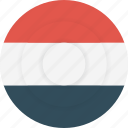 country, flag, geography, national, nationality, yemen icon