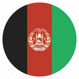 afghanistan, afghanistani, country, flag, national icon