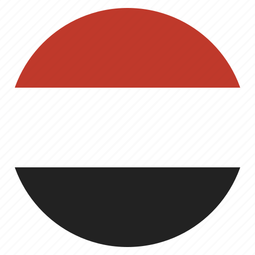 country, flag, national, yemen icon