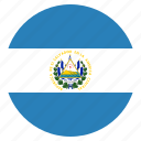 country, el, flag, national, salvador