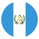 country, flag, guatemala, national