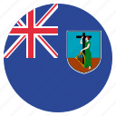 country, flag, montserrat icon