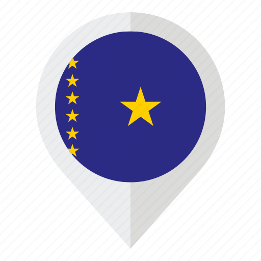 'Flags of the World Set in Map Marker#1' by Nikita Kozin