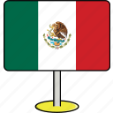 countries, country, flags, mexico, sign, travel, world icon