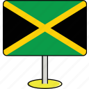 countries, country, flags, jamaica, sign, travel, world icon
