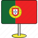 countries, country, flags, portugal, sign, travel, world icon