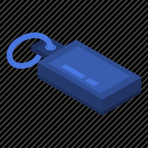 Blue, cartoon, drive, flash, flashicon, isometric, usb icon - Download on Iconfinder