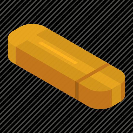 Cartoon, flash, isometric, key, memory, orange, usb icon - Download on Iconfinder