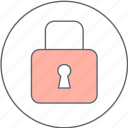 latch, lock, padlock, protect icon