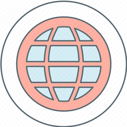 communication, internet, online, world icon