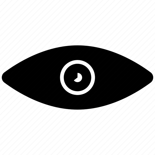 eye, overview, view icon