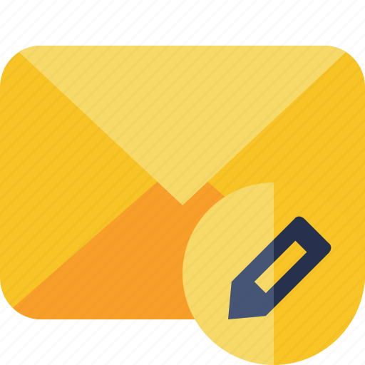 communication, edit, email, letter, mail, message icon