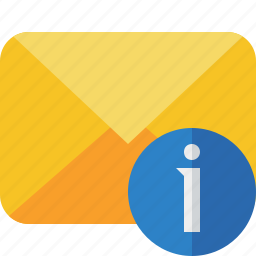 communication, email, information, letter, mail, message icon